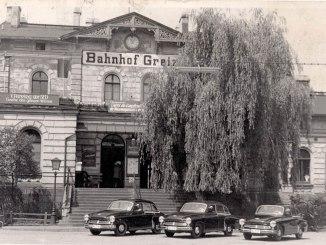 Bahnhof Greiz 1958