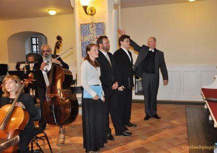 Bach Konzert in der Stadtkirche St. Marien Greiz