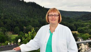 Claudia Krüger als Neurologin in der Poliklinik Greiz GmbH tätig