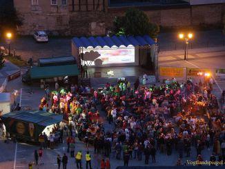 Greizer feiern den Fußball-Weltmeistertitel