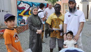 Großes Fest auf dem Greizer Kirchplatz zur Interkulturellen Woche