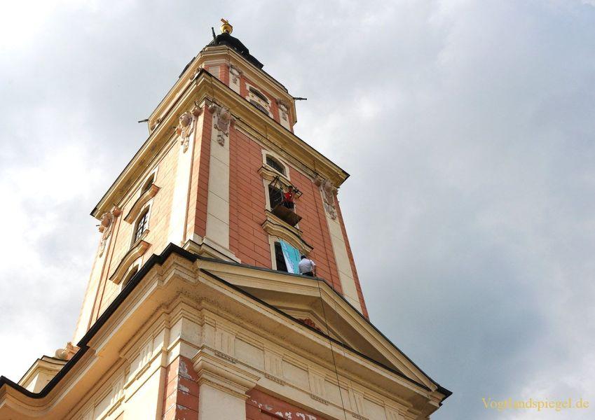 Ökumenisches Straßenfest lud rund um Greizer Stadtkirche ein