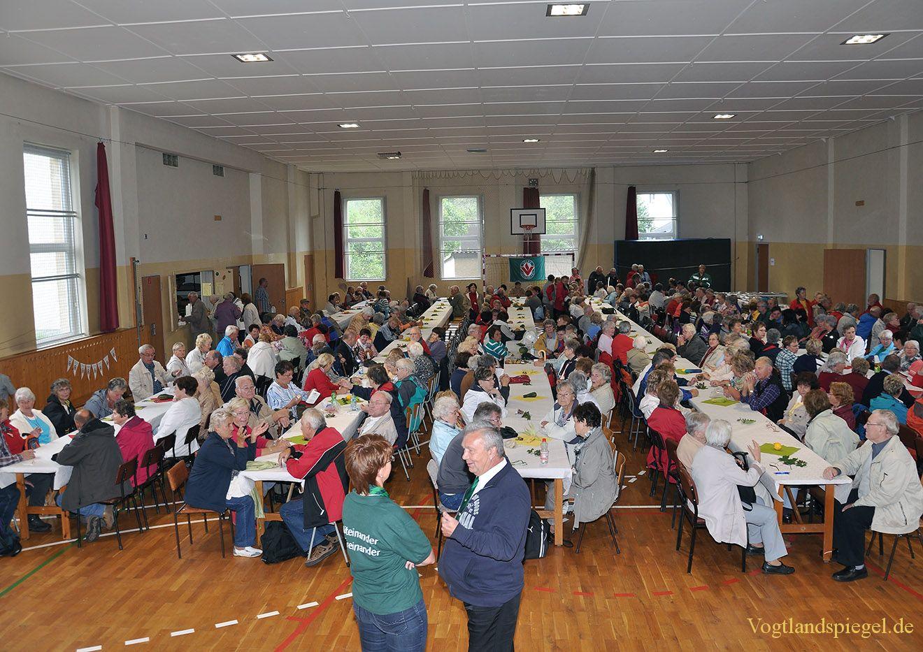 Greizer Volkssolidarität lud zum Thüringer Wandertag ein