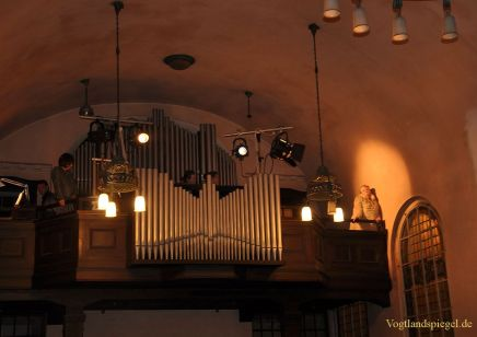 Schauspielwerkstatt in Greizer Gottesackerkirche