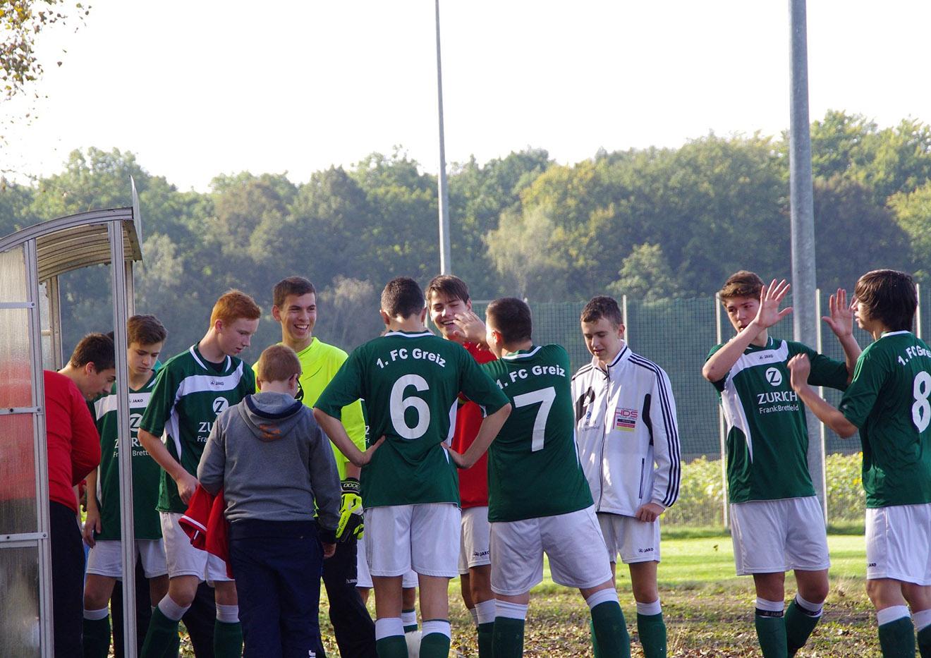 B-Junioren des 1. FC Greiz
