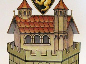 Wappen im Rathaus Greiz