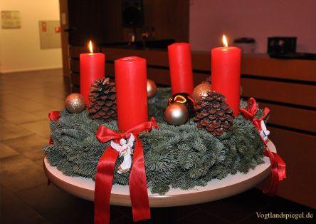 Stimmungsvoller Adventsnachmittag in Vogtlandhalle Greiz