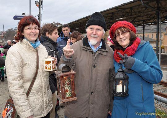 Friedenslicht aus Bethlehem kam in Greiz an