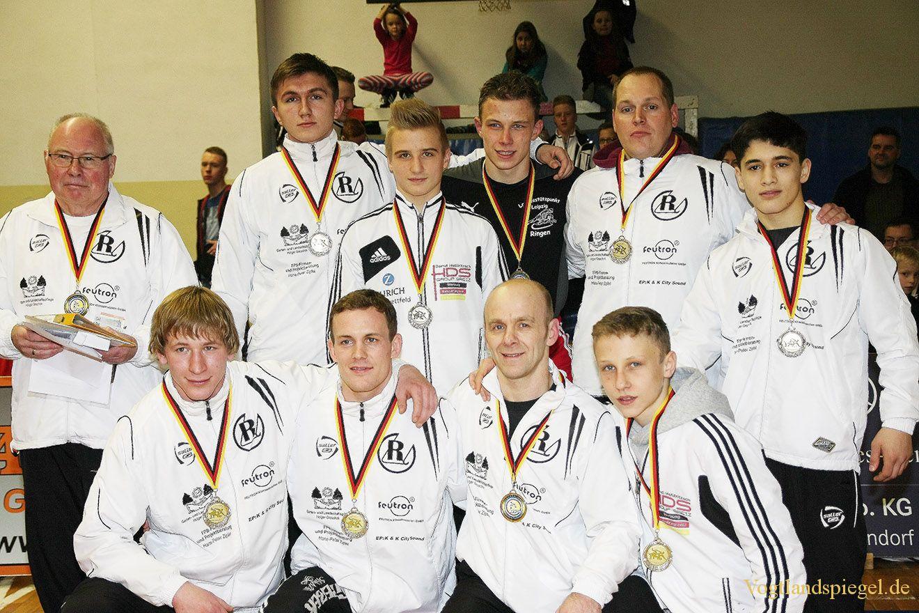Landesliga Sachsen-Thüringen 2014 Ringen: RSV R Greiz II gegen FC Erzgebirge Aue II