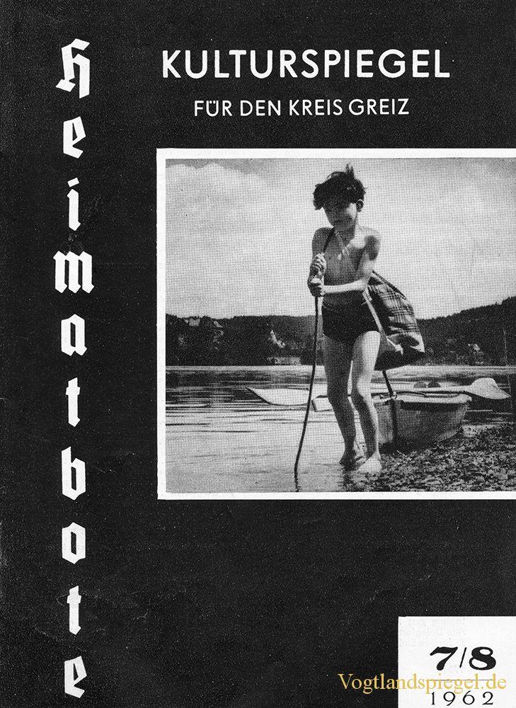 Greizer Heimatbote Juli/August 1962