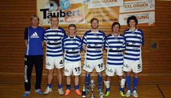 SV Blau-Weiß 90 Greiz I setzt sich im Männerturnier durch