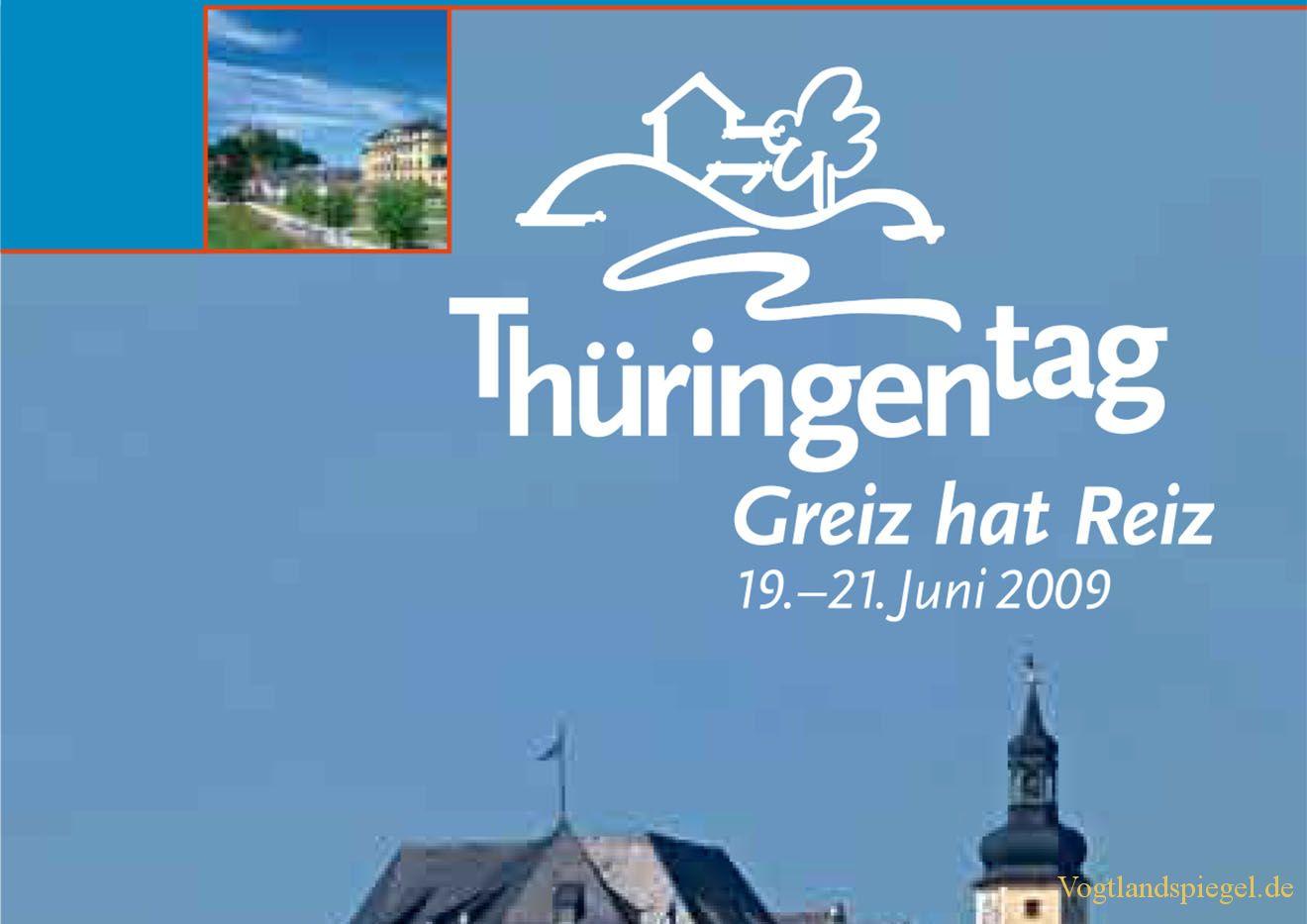 12. Thüringentag in der Schloss-und Residenzstadt Greiz