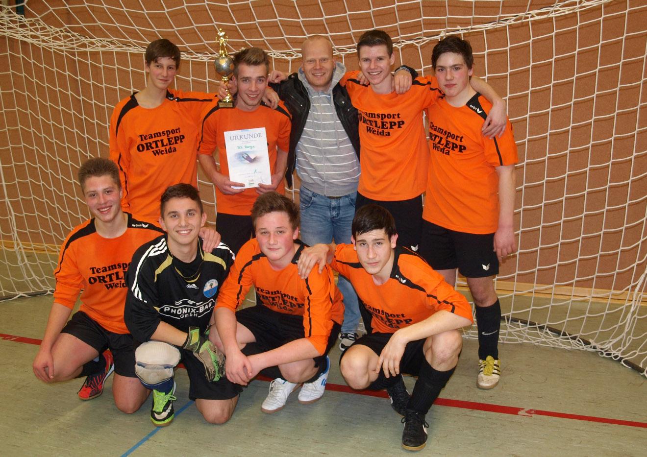 Rudi-Geiger-Pokal 2015 im Hallenfußball