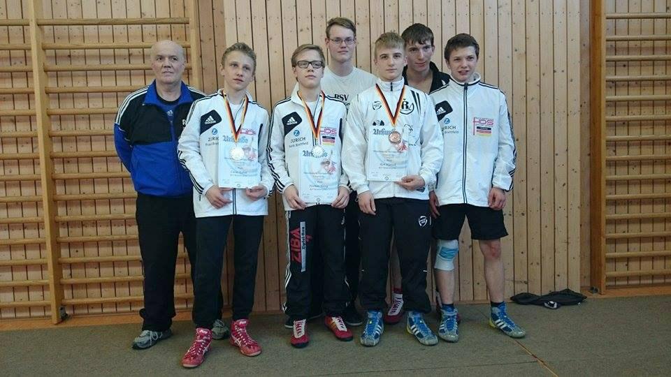 Mitteldeutschen Meisterschaften Ringen