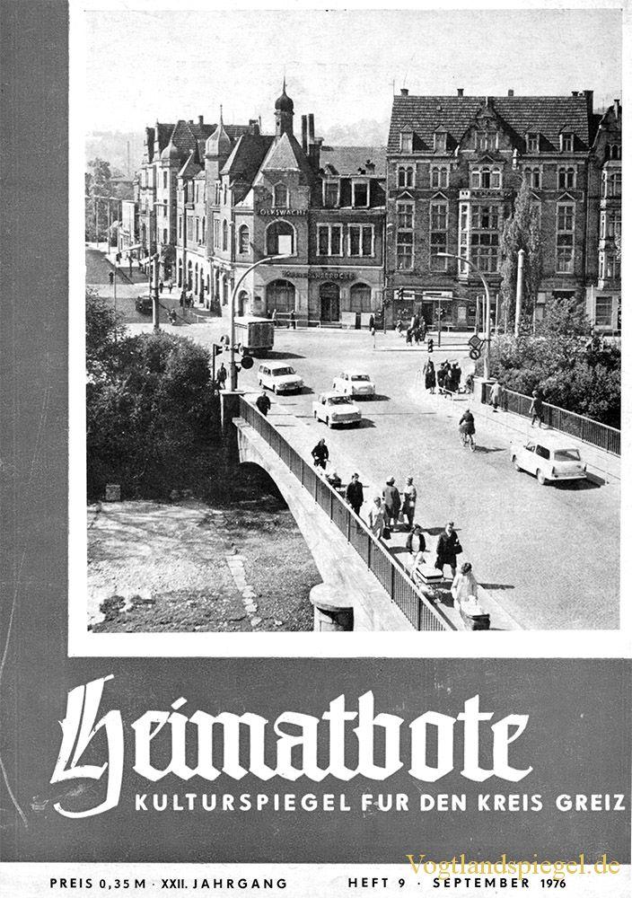 Greizer Heimatbote September 1976