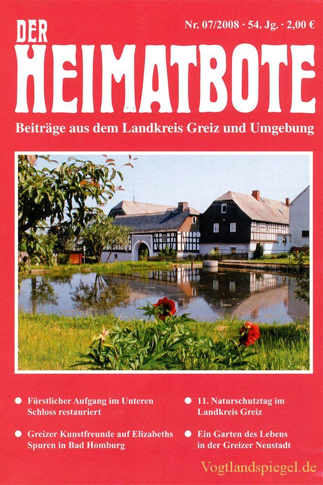 Greizer Heimatbote Juli 2008