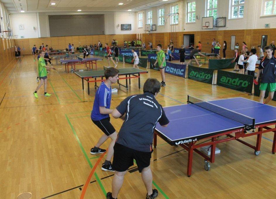 Kreisjugendspiele Tischtennis