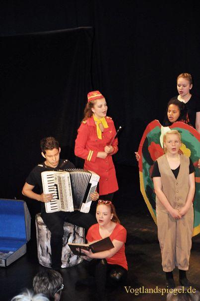 Schülertheatertage des Landkreises Greiz eröffnet