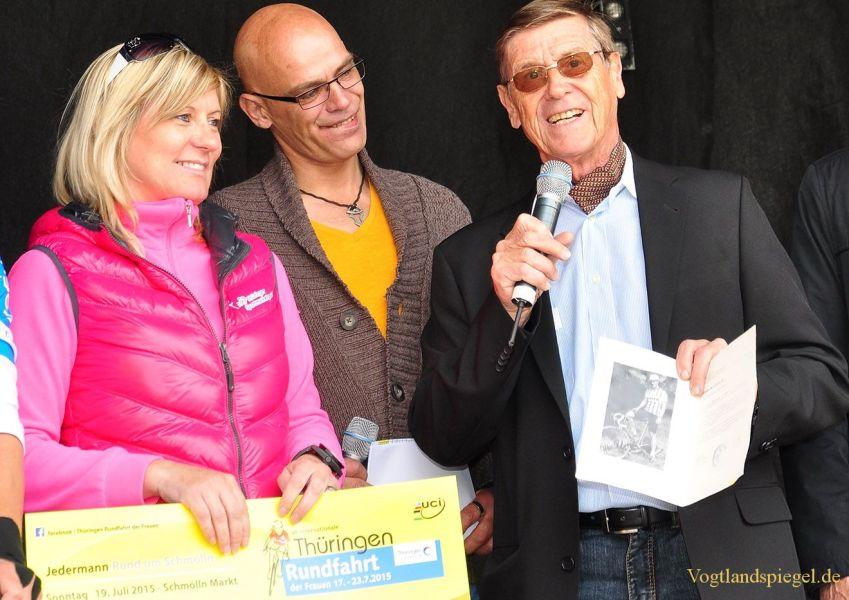 Promotour zur 28. Internationalen Thüringen-Rundfahrt der Frauen