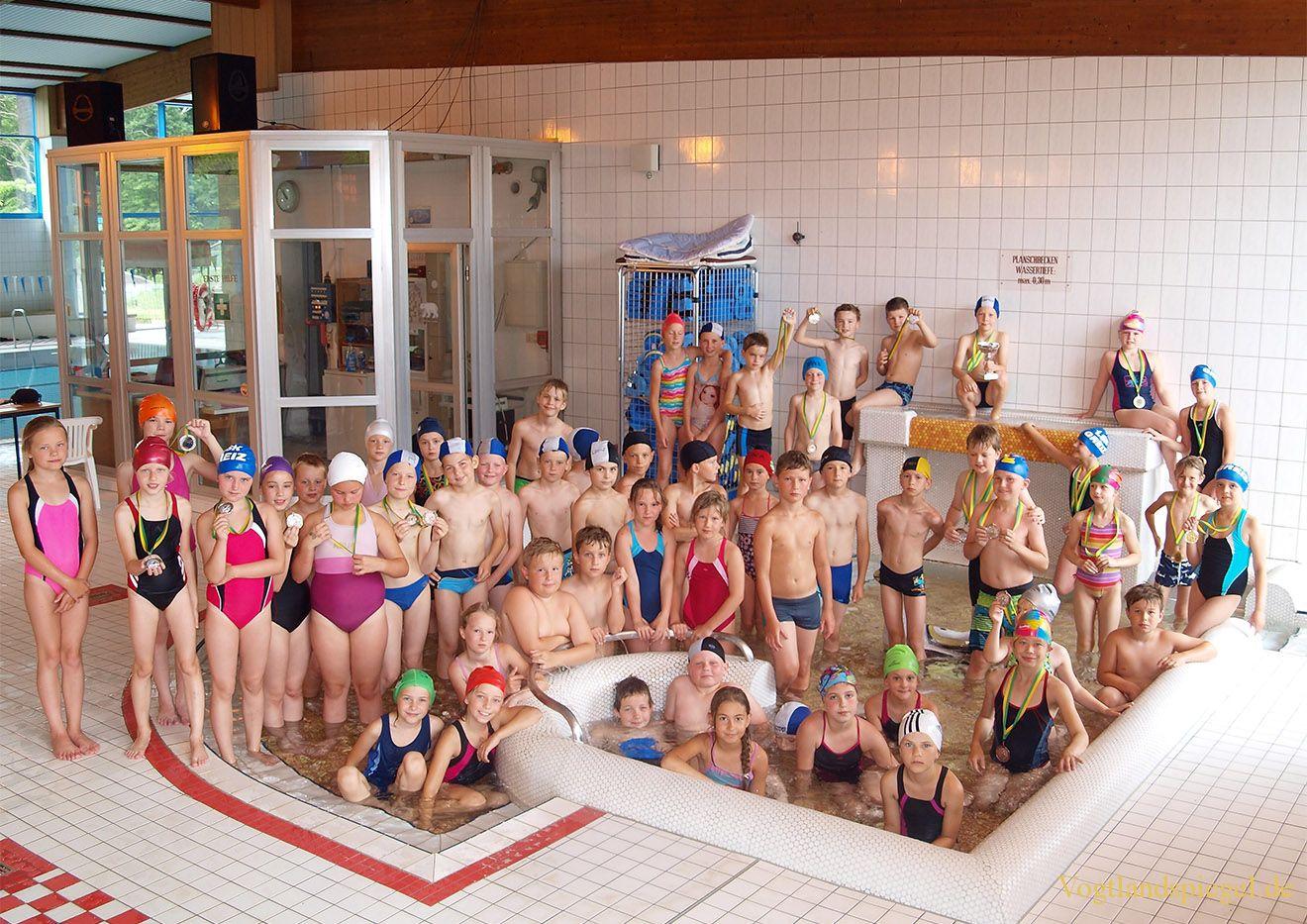 Grundschule Mohlsdorf siegte beim Wanderpokalwettkampf Schwimmen