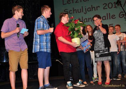 Greizer Gymnasiasten begehen feierlich letzten Schultag