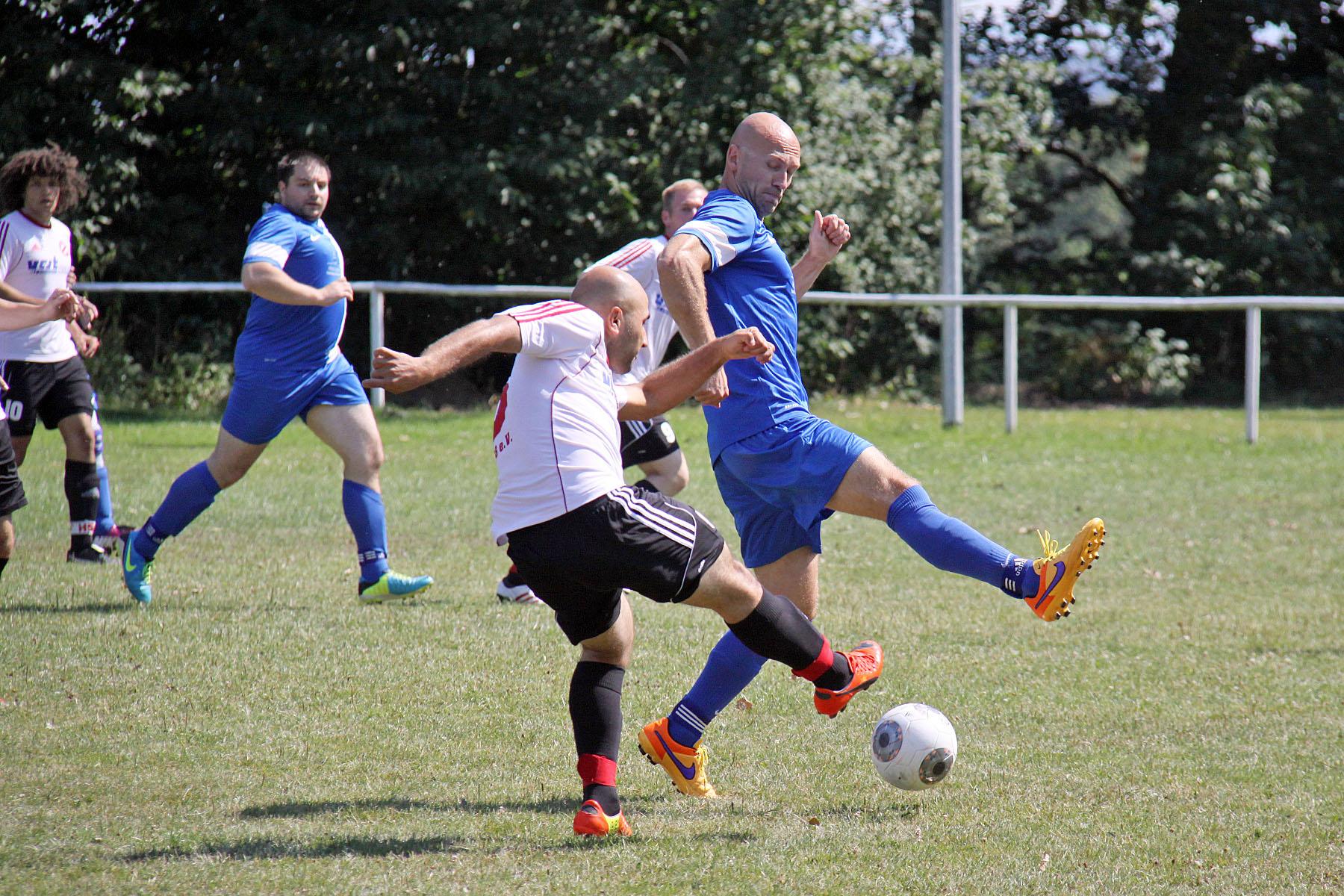 Saisonvorbereitung 2015/16 beim SV Blau-Weiß 90 Greiz