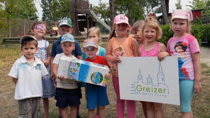 Bürgerstiftung Greiz sorgt für Badespaß in Kindergärten