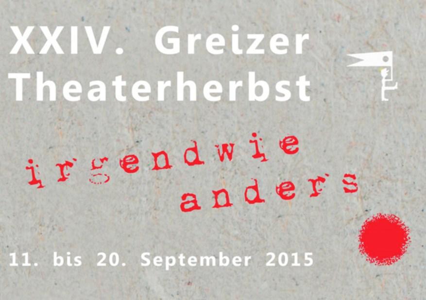 Pressemappe XXIV Greizer Theaterherbst