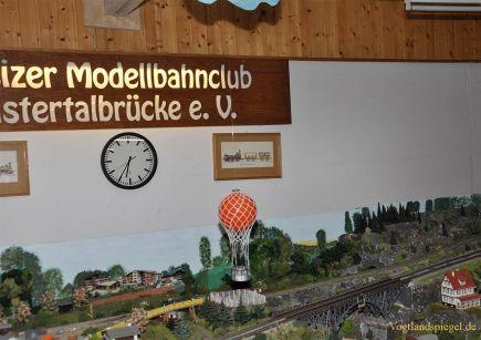Modelleisenbahnen rollen wieder in Greiz