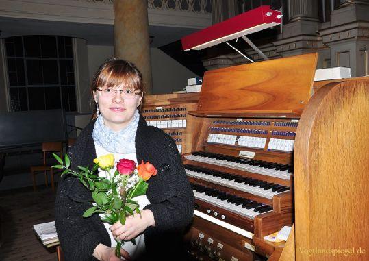 Greizerin Maria Lioba Gebhardt brillierte bei Orgelkonzert