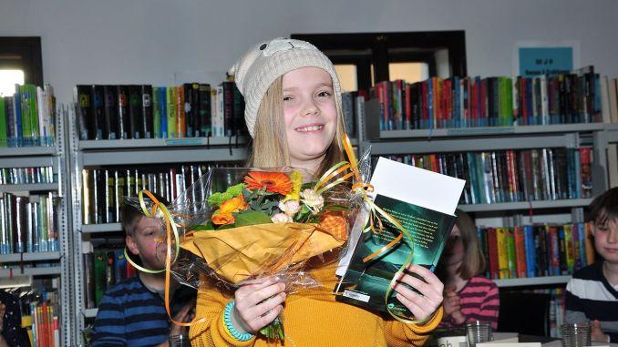 Ronja Meinhardt aus Altenburg gewann Vorlesewettbewerb