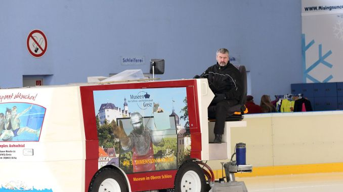 Greizer Eisbahnchef schaut auf erfolgreiche Saison zurück
