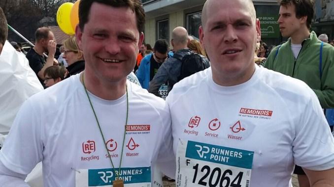 Greizer Ringer beim Halbmarathon in Berlin