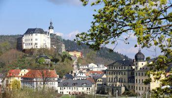 Fürstliche Schloss und Residenzstadt Greiz 2016