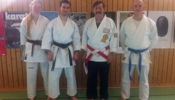 Benedict Schult ist 1. Dan-Träger im Karate