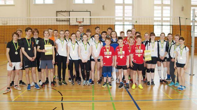 Volleyball-Turnier im Rahmen der Kreisjugendspiele 2016