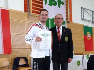 Benedikt Schult erfolgreich bei German Open