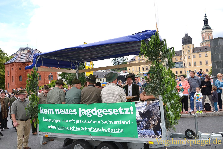 Festumzug krönt das Greizer Park-und Schlossfest