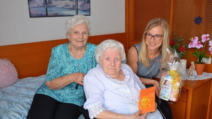 Herzliche Gratulation zum 102. Geburtstag