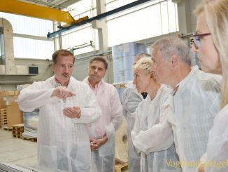 Ortsverein der Greizer SPD besucht Innofol GmbH
