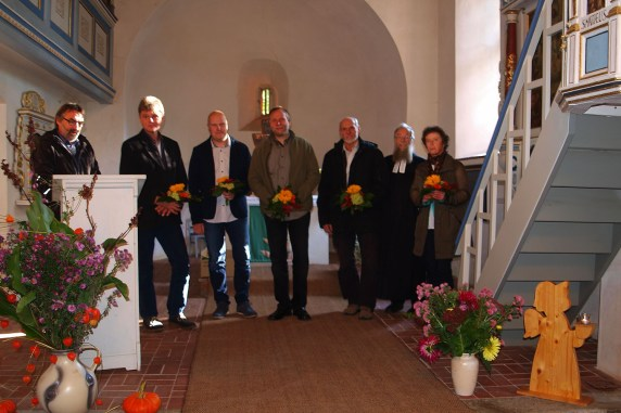 Kirchgemeinde Waltersdorf: Einweihung der Winterkirche