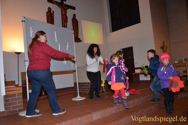 Greizer Kinder feiern traditionelles Martinsfest