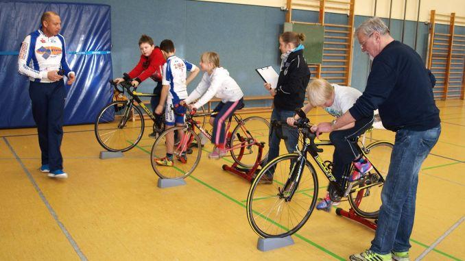 Sichtungsveranstaltungen in Greizer Grundschulen für den Radsport