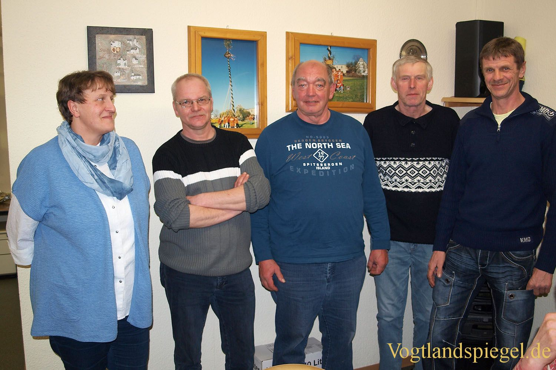 Feuerwehrverein Gommla zog Bilanz und wählte neuen Vorstand