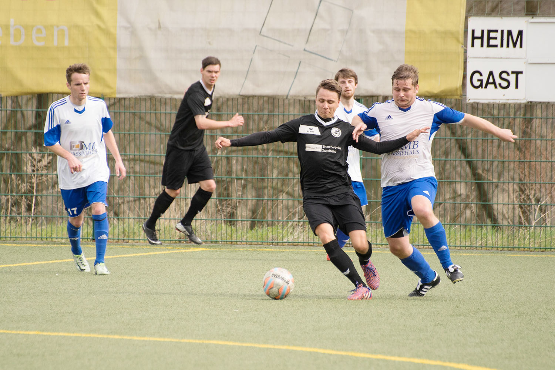 Fußball-Landesklasse: 1.FC Greiz - FC Saalfeld 1:1