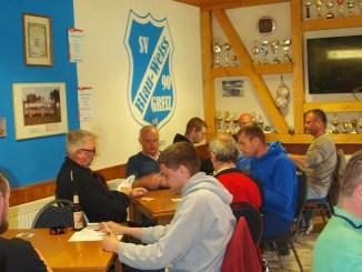 SV Blau-Weiß 90 Greiz: Helmut Hanke ist Frühjahrsmeister im Skat
