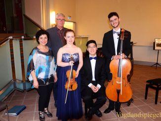 Kammerkonzert auf dem Oberen Schloss: Jugendliche Frische traf Virtuosität