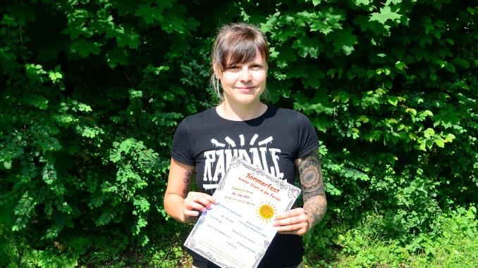 Jugendarbeiterin Stephanie Schrader