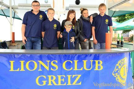 Lions Greiz: Traditioneller Biergarten und Unterhaltungsmusik