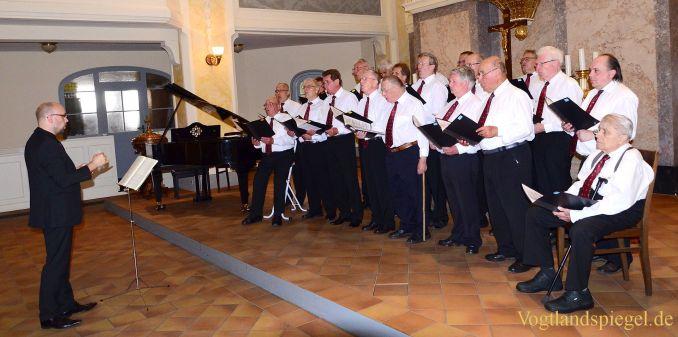 Männerchorgemeinschaft Greiz und Gäste ehren drei Komponisten